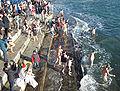Nagegie d'Noué au Hâvre des Pas Jèrri 25 d'Dézembre 2009 04.jpg