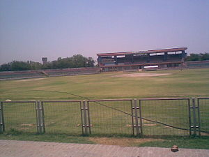 Nahar Singh - Nahar Singh Stadium in Faridabad named after Nahar Singh has hosted several International Cricket Matches