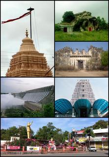 Nalgonda district District of Telangana in India
