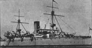 Naniwa-class cruiser - Image: Naniwa