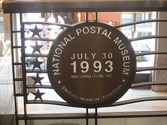 National Postal Museum - Image: National Postal Museum opening sign IMG 4356