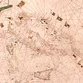 Nautical chart of the Mediterranean area, including Europe with British Isles and part of Scandinavia. HM 1548. anonymous, PORTOLAN CHART (Italy, 15th century).M.jpg