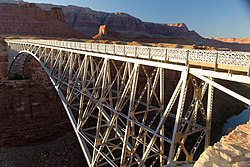 Navajo Bridge, Coconino County, AZ, US.jpg