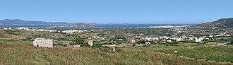 Glynado - Landscape around Glynado (left) and Galanado (right)