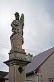 Nečtiny, socha sv.Floriána, detail.jpg