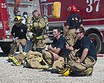 Nellis-Creech firefighters train with civilian counterparts 150327-F-JB386-355.jpg