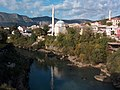 Neretva riverside at Mostar 2 - panoramio.jpg