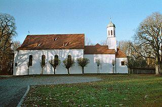 Neusäß Place in Bavaria, Germany