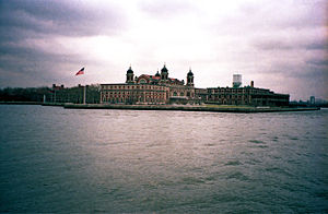 Deutsch: New York, New York, Ellis Island