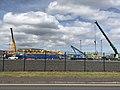 New Belfast Liebherr gantry under assembly.jpg