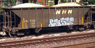 New Hampshire Northcoast Corporation - NHN hopper car