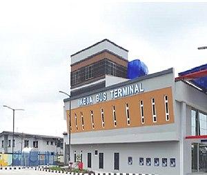 Lagos Metropolitan Area Transport Authority - New Ikeja Terminal constructed by LAMATA