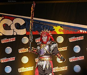 Cosplay de Ganondorf (New York, 2015).