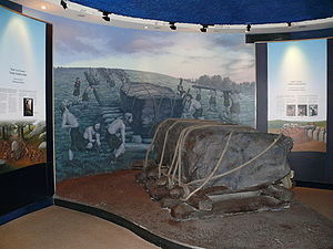Newgrange building display visitors centre.jpg