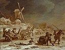Nicolaes Berchem - Winterlandschaft mit Schlittenfahrt.jpg