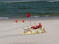 Niechorze beach - grajdołek 06 (ratownik).JPG