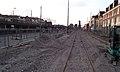 Nieuwe tramsporen Delft langs het spoor.jpg
