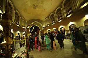 Delhi Gate, Lahore - The gate has been restored and features a small market inside the building itself.