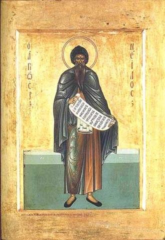 November 12 (Eastern Orthodox liturgics) - Image: Nil Postnik