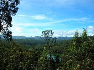 Nilgiri mountains - View of Nilgiri Hills