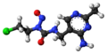 Nimustine 3D ball.png