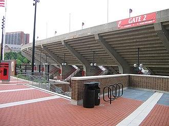 Nippert Stadium - Exterior 2008