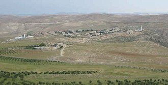 Avigdor Lieberman - Nokdim as photographed from the air in early 2006.