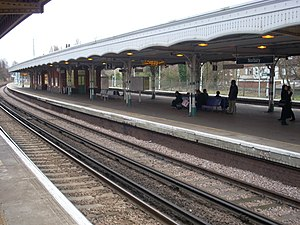 Norbury railway station - Image: Norbury 999