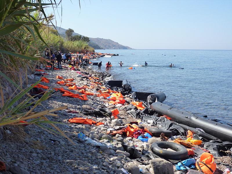 File:Nordküste von Lesbos.JPG