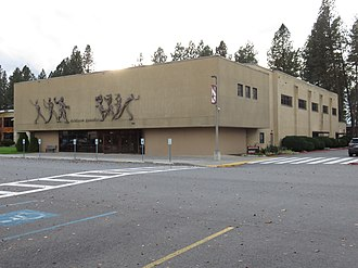 North Idaho College - Image: North Idaho College Gymnasium 2018
