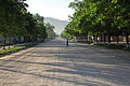 North Korea - Rajin morning road (6147059132).jpg