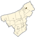 Northampton county - East Bangor.png
