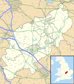 Croughton is located in Northamptonshire