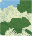 Norway Spruce Picea abies distribution in Poland map 2.png