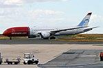 Norwegian (Babe Ruth Livery), G-CKMU, Boeing 787-9 Dreamliner (44361808805).jpg