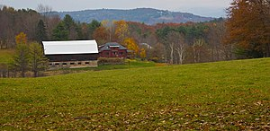 Norwich-Vermont-Bragg Hill-Autumn