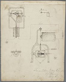 Frank J. Sprague, notes on seamanship, with drawings of sail boat parts, and electrical equipment, 1878-1880