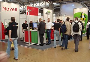 LinuxTag - Novell/SuSE at the LinuxTag 2004