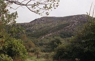 Nowen Hill - Nowen Hill from Nowen Hill Farm, Cullenagh