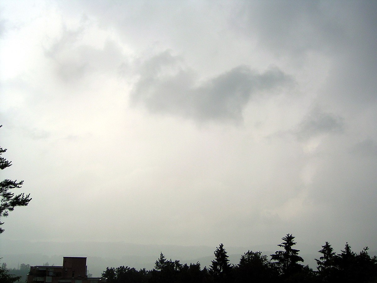 Nimbostratus cloud - Wikipedia