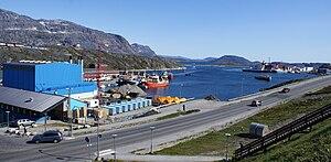 Nuuk - The port of Nuuk
