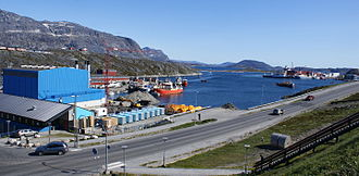 Nuuk - The port of Nuuk