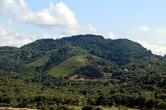 Obuasi - OSC Hill of Obuasi in Ashanti.