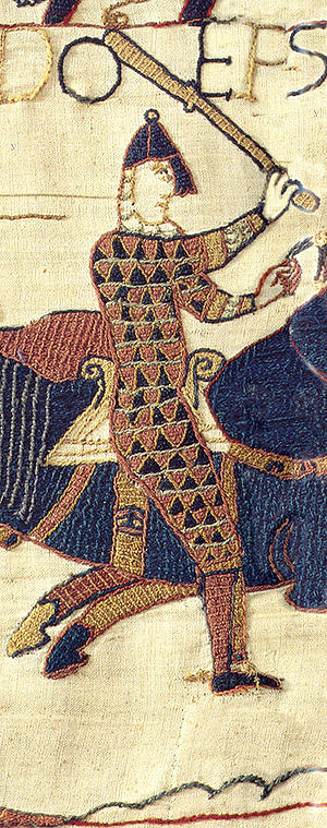 Odo of Bayeux - Odo, detail from Bayeux Tapestry
