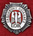 Odznaka Zasłużony Działacz LOK (awers).jpg