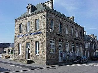 La Hague - The tourist office in Beaumont-Hague