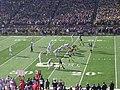 Ohio State vs. Michigan football 2013 09 (Michigan on offense).jpg