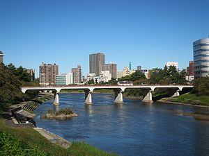 Okazaki, Aichi - Image: Okazaki Myodaibashi 5659