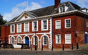 HM Customs and Excise - Exeter's former Custom House