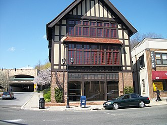Glen Cove, New York - Old Glen Cove Post Office on 51 Glen Street, listed on the NRHP in 2010, now used as an architect's office